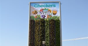 Primedia Outdoor collaborates with Checkers to create a growing billboard