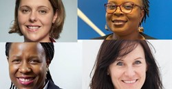 Katherine Persson, Mamoso May, Hlengiwe Radebe and Wendy Parsons