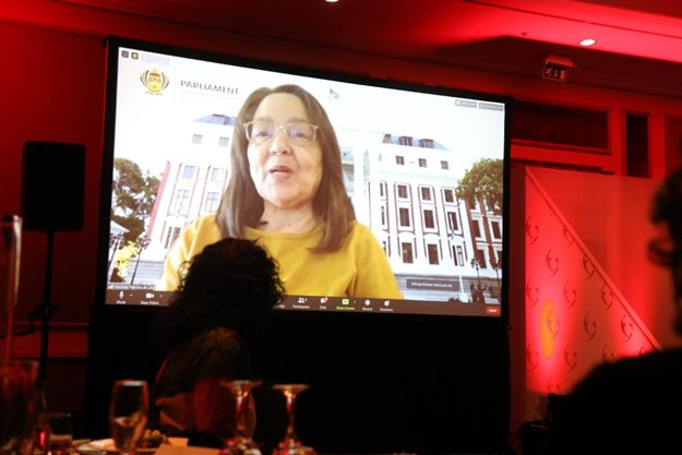 Patricia de Lille delivered the inaugural ERWIC Awards keynote address.