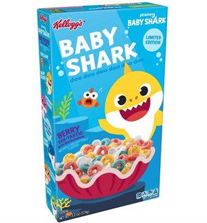 Nickelodeon in partnership with Kellogg's to bring fun and excitement to breakfast with the newly launched Kellogg's Baby Shark Froot Loops cereal