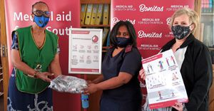 Masks and sanitisers for Tshwane schools