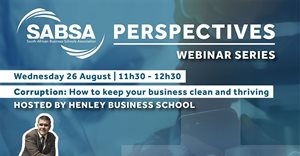 Combatting corruption in South Africa depends on three pillars, says experts on Henley and SABSA panel
