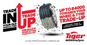 Trade up at Tiger Wheel & Tyre
