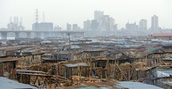Makoko neighbourhood in Lagos, initially founded as a fishing village.Frédéric Soltan/Corbis via Getty Images
