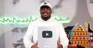 Kaya FM receives YouTube Silver Button Award