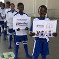 Henley Business School Africa sponsors Bright Spark Foundation soccer kit