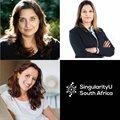 Leading women on stage at SingularityU Online Summit 2020