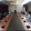 Rosgeo, Equatorial Ministry of Mines and Hydrocarbons meeting