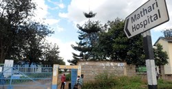 Mathari Hospital is the only psychiatric hospital in Kenya. Simon Maina/AFP via Getty Images