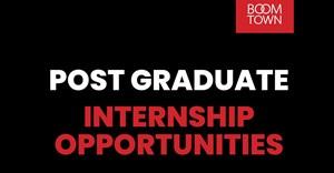 Boomtown seeks graduates for 2021 internship intake