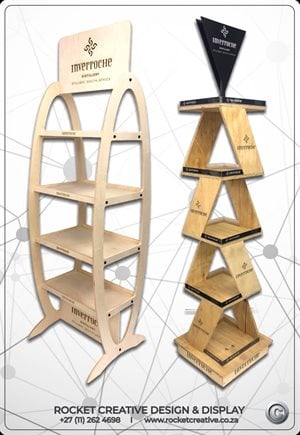 Rocket Creative rolls out with new eco-ply display hardware