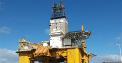 Deepsea Stavanger, the rig used in Total's offshore operations