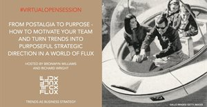 Virtual open session: From postalgia to purpose - How to motivate your team and turn trends into purposeful strategic direction in a world in flux