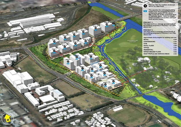 This is the planned development at the River Club that is being contested by various parties. Image supplied