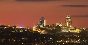 Sandton, South Africa's financial hub