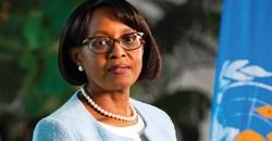 Dr Matshidiso Moeti, regional head, Africa, World Health Organisation