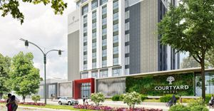New Courtyard Hotel Waterfall City on track for early-2021 opening