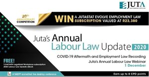 Juta's Annual Labour Law Update