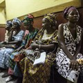 Patients waiting at Connaught Hospital, Freetown, Sierra Leone (credit - Steven Rubin)