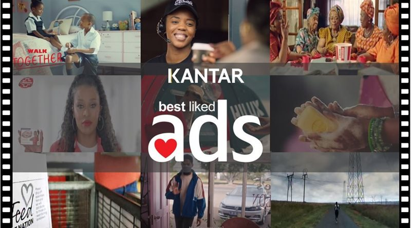 Kantar announces South Africa's top 10 Best Liked Ads for Q1 and Q2 2020