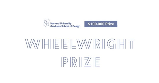Entries open for Harvard GSD's 2021 Wheelwright Prize