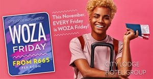 City Lodge Hotels says Woza Friday!