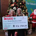 Spar WC hands over R412,500 to Saartjie Baartman Centre