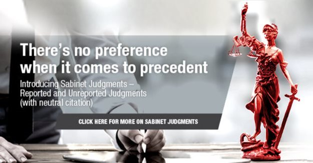 Sabinet Judgments - a well-rounded view of reported and unreported judgments