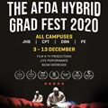 The Afda Hybrid Graduation Festival 2020