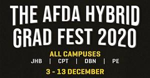 The Afda Hybrid Graduation Festival 2020