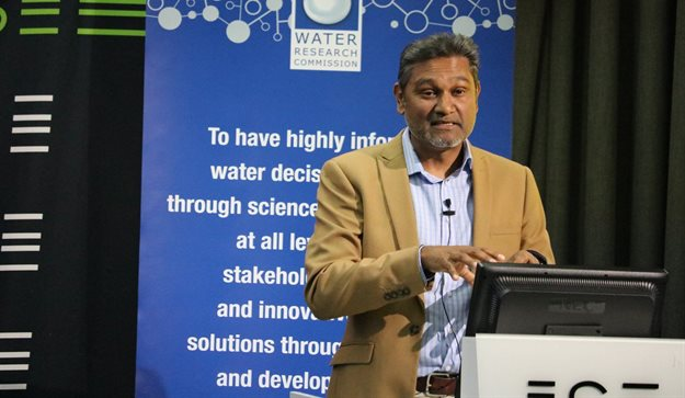 Dhesigen Naidoo, CEO of the WRC, president of HumanRight2Water and member of the Water Policy Group