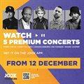 Joox brings premium entertainment with SA's best artists this festive season