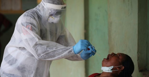 The Nigerian government struggles to contain Covid-19 while other diseases suffer some measure of neglect Photo by Kola Sulaimon/AFP via Getty Images