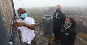 Cape Town launches fog harvesting pilot project on Table Mountain