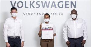 Rachel Kobo named VW Group's best apprentice for 2020