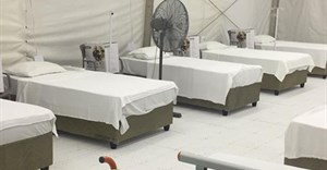New Covid facilities at Ahmen Al Kadi Hospital in Durban