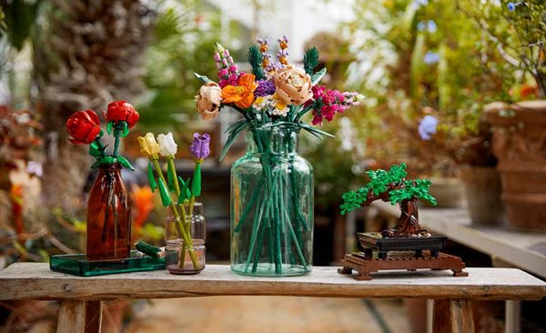 Lego Botanical Collection designed to aid creativity and stress relief in adults
