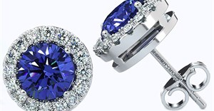 Presenting the new tanzanite earring collection by Cape Diamonds, featuring unique designs as beautiful as 'true love'