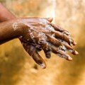 Hand hygiene is important to fight Covid-19 but how can you do that without water. Shutterstock