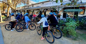 Staycation in Stellenbosch with Adventure Shop cycle tours and at the historical Eendracht Hotel