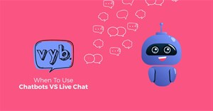 When to use chatbots vs live chat