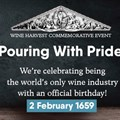 SA wine industry to mark SA's 362nd wine-making birthday with free virtual event