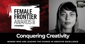Steph Van Niekerk celebrated in the 2021 Campaign UK Female Frontiers Awards