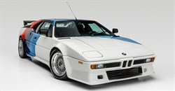 Paul Walker BMW M1 sells for R7.5m in auction
