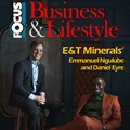 E&T Minerals' CEO and COO land their first magazine cover