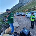 EMS drone rescue in Rooi-Els