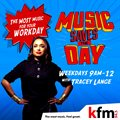 Kfm 'Music Saves The Day' drives daytime listening