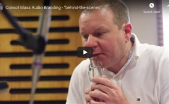 Check out the behind-the-scenes of the Consol Glass audio branding