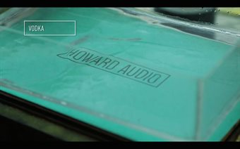 See how Howard Audio's logo was made