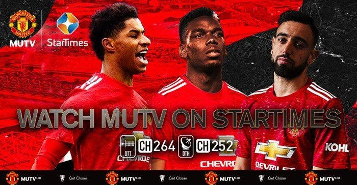 Manchester United partners w/ StarTimes to offer MUTV in Africa